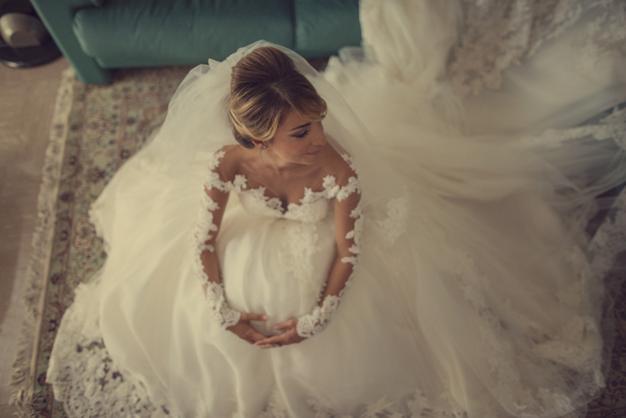 eleonora brunacci sposa mariano di vaio