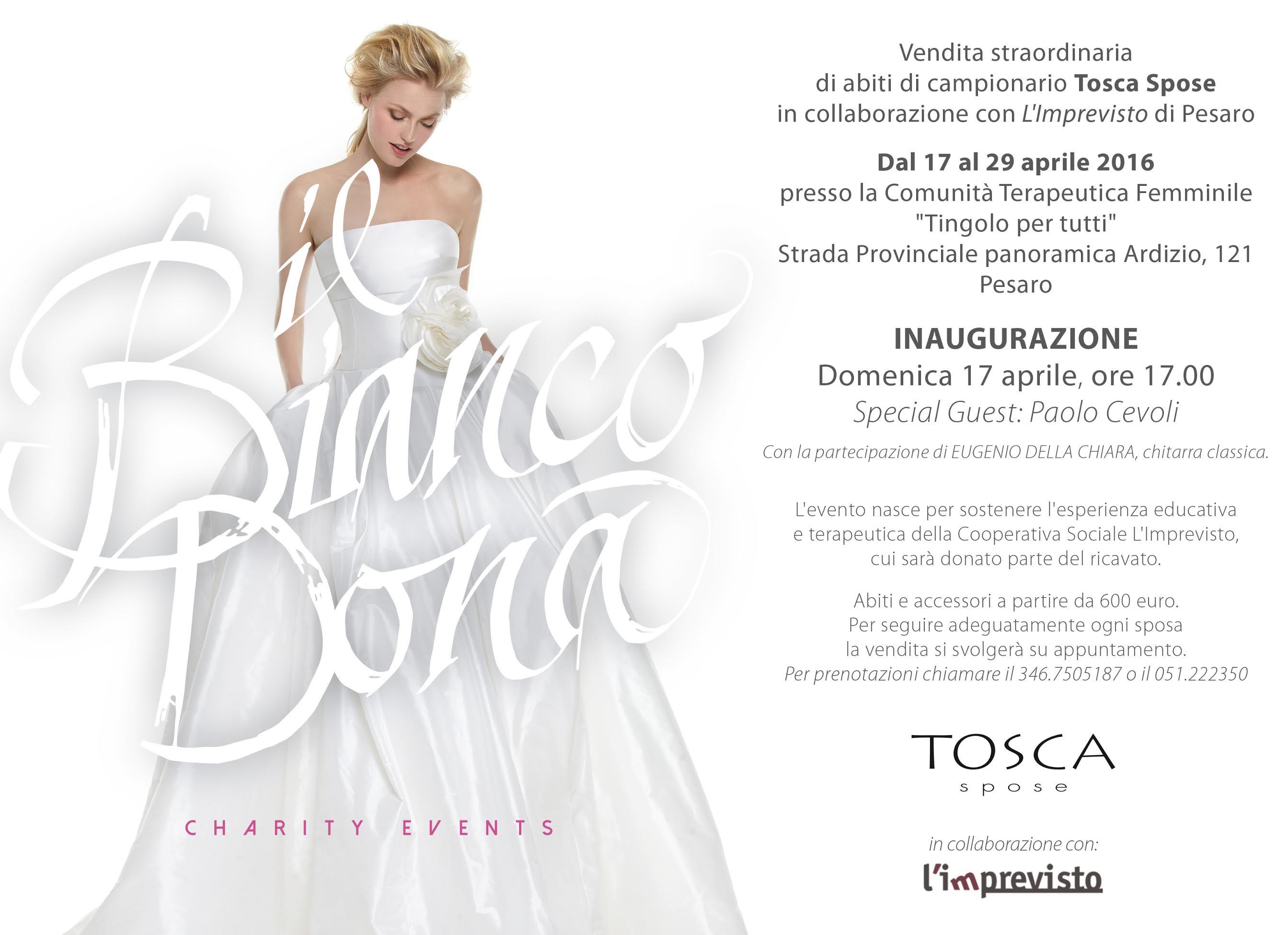 Il Bianco Dona - Pesaro dal 17 al 29 Aprile