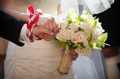 matrimonio celtico sposi