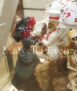 Topper cake matrimonio tema Halloween