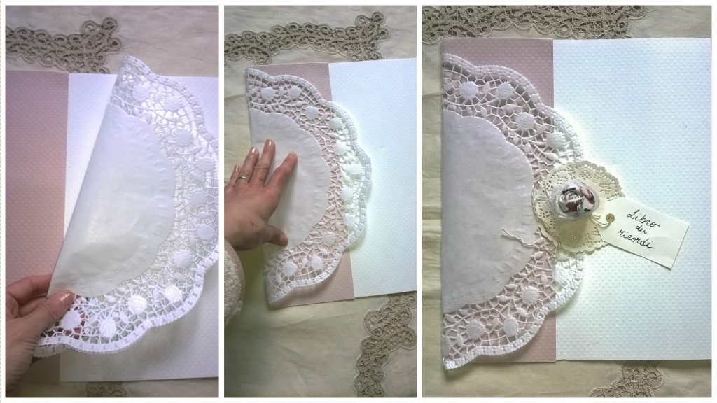 Guest book decorazione shabby low cost