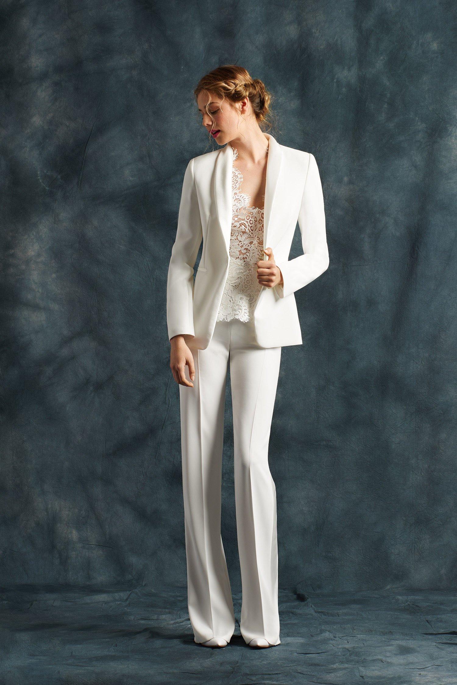 abito sposa pantalone