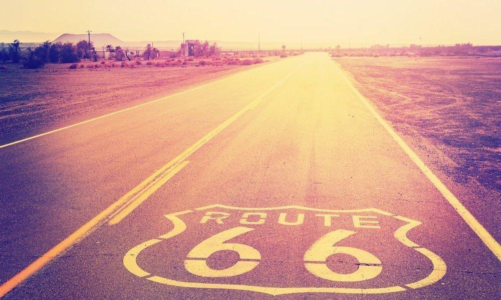 viaggio di nozze in moto lungo la route 66