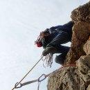 Escalada en el Pequeño Cervino (Alicante). Amistades verticales 6a, 130 m