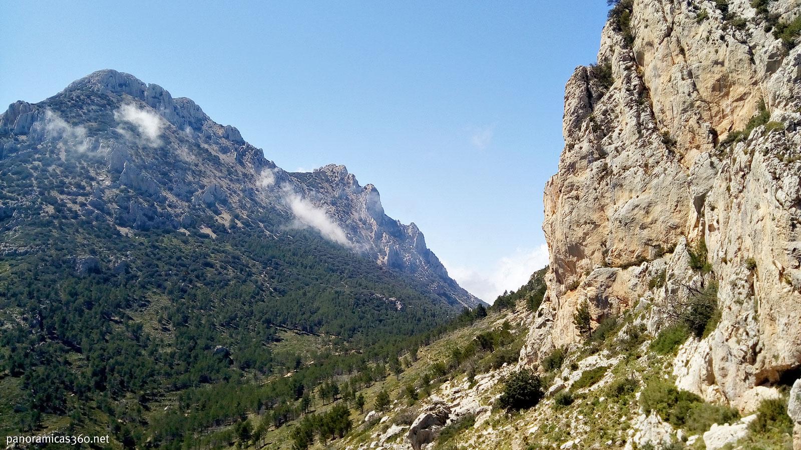 Puig Campana desde el coll de Llamp