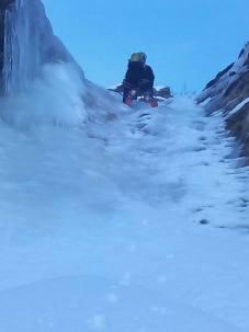 Superando el resalte de hielo