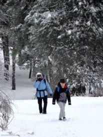 Excursión con niños en la Sierra del Segura nevada