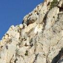 Escalada en el Puig Campana. Vía Ángel Cerrillo 450 m, IV+/V