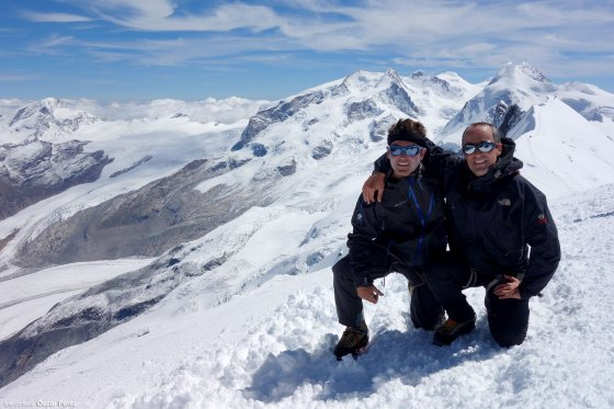 Cumbre del Breithorn Occidental