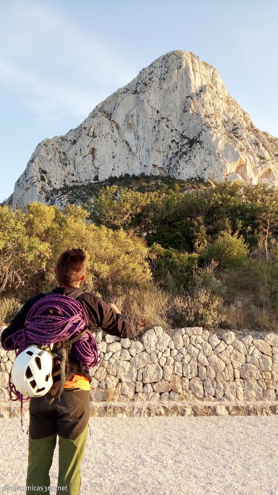 Escalada Peñón Ifach. Vías Valencianos y Pany   Blog de montaña Pels