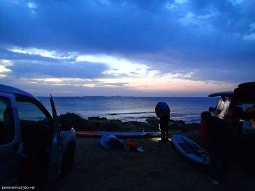 Preparativos para la travesía Cabo de Santa Pola - Isla de Tabarca