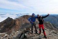 En la cumbre del Pic Verdaguer
