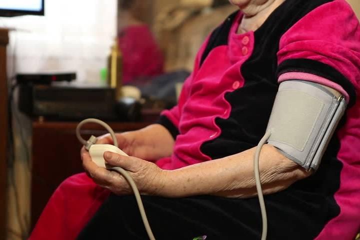Pression cardiaque faible chez les personnes âgées