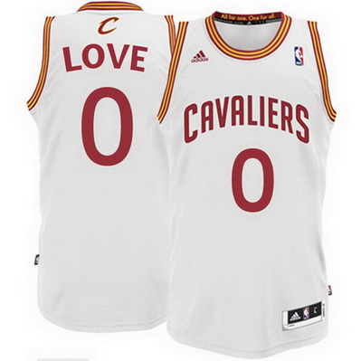canotta basket kevin love 0 cleveland cavaliers rev30 bianca