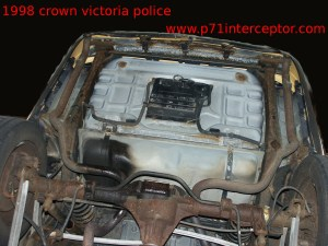 Crown Victoria Rear Shock Absorber Installation