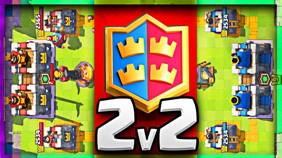 Clash Royale 2v2 mode. How to be a good 2v2 player