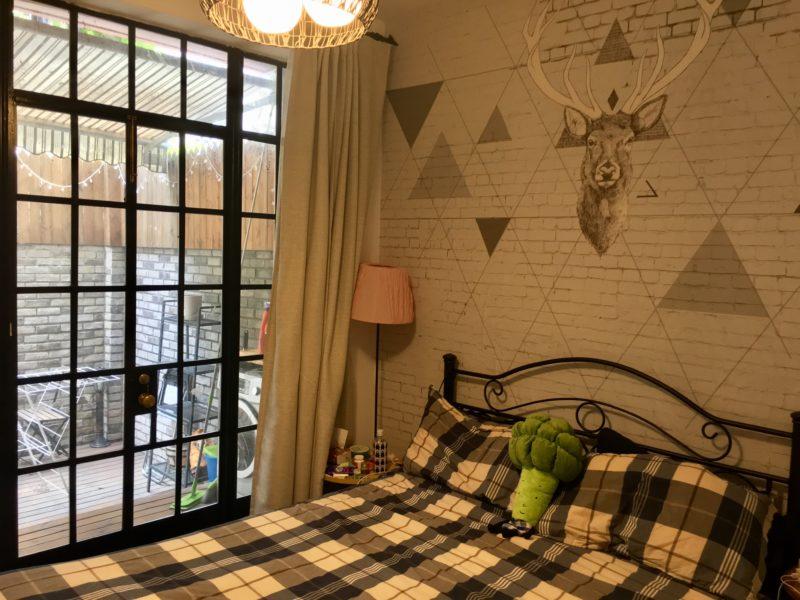shanghai, logement, chambre