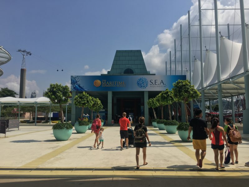sentosa, singapour, escapade