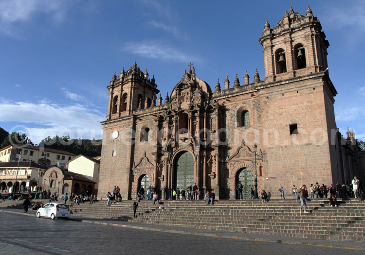 cuzco, cusco, pérou, cathédrale de cuzco