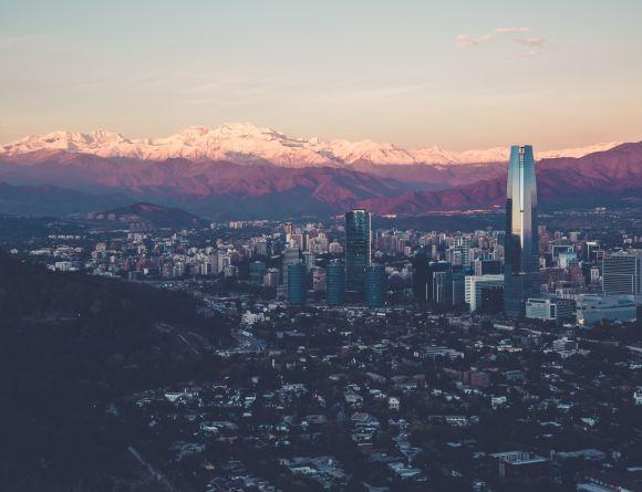 santiago, chili, ville