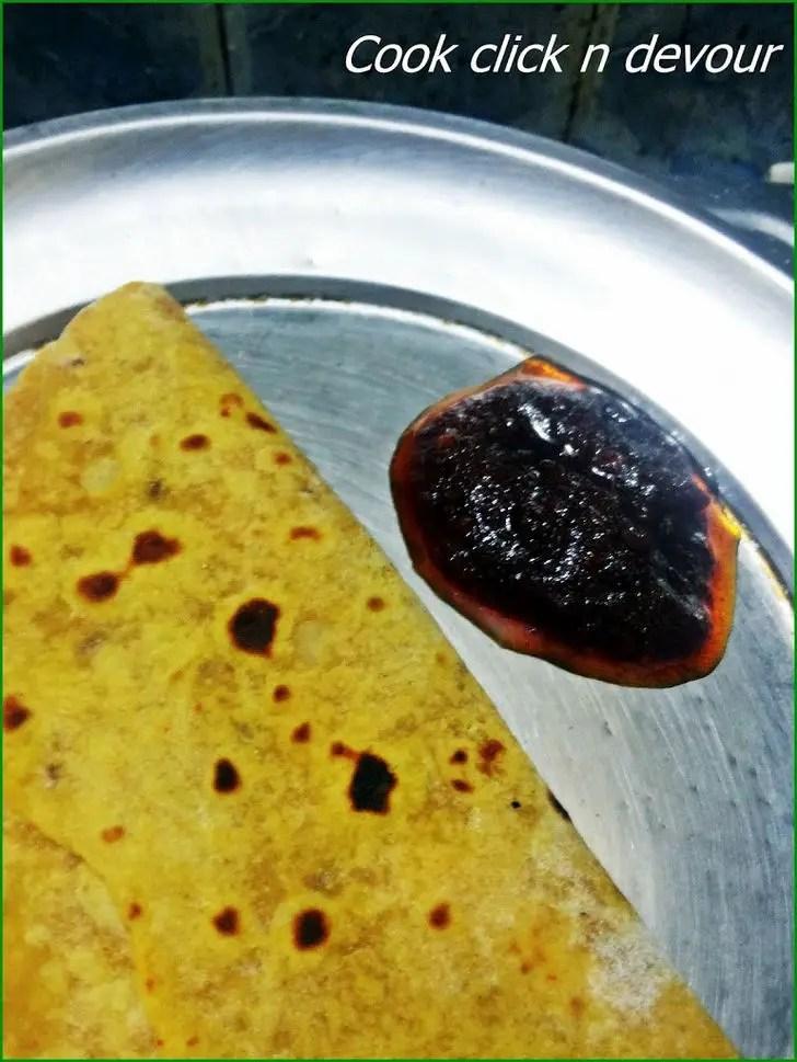 Potato Chapathi Recipe.
