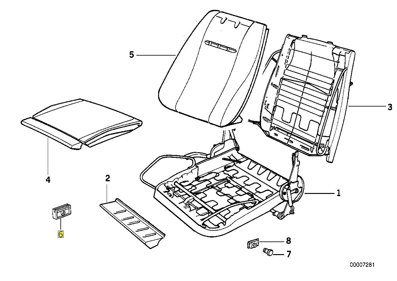 Bmw E30 E28 E23 E24 Seat Oberschenkel Halter Anleitung
