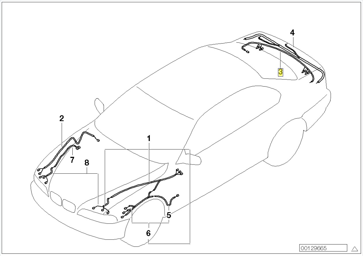 Bmw E39 Wiring Harness Diagram