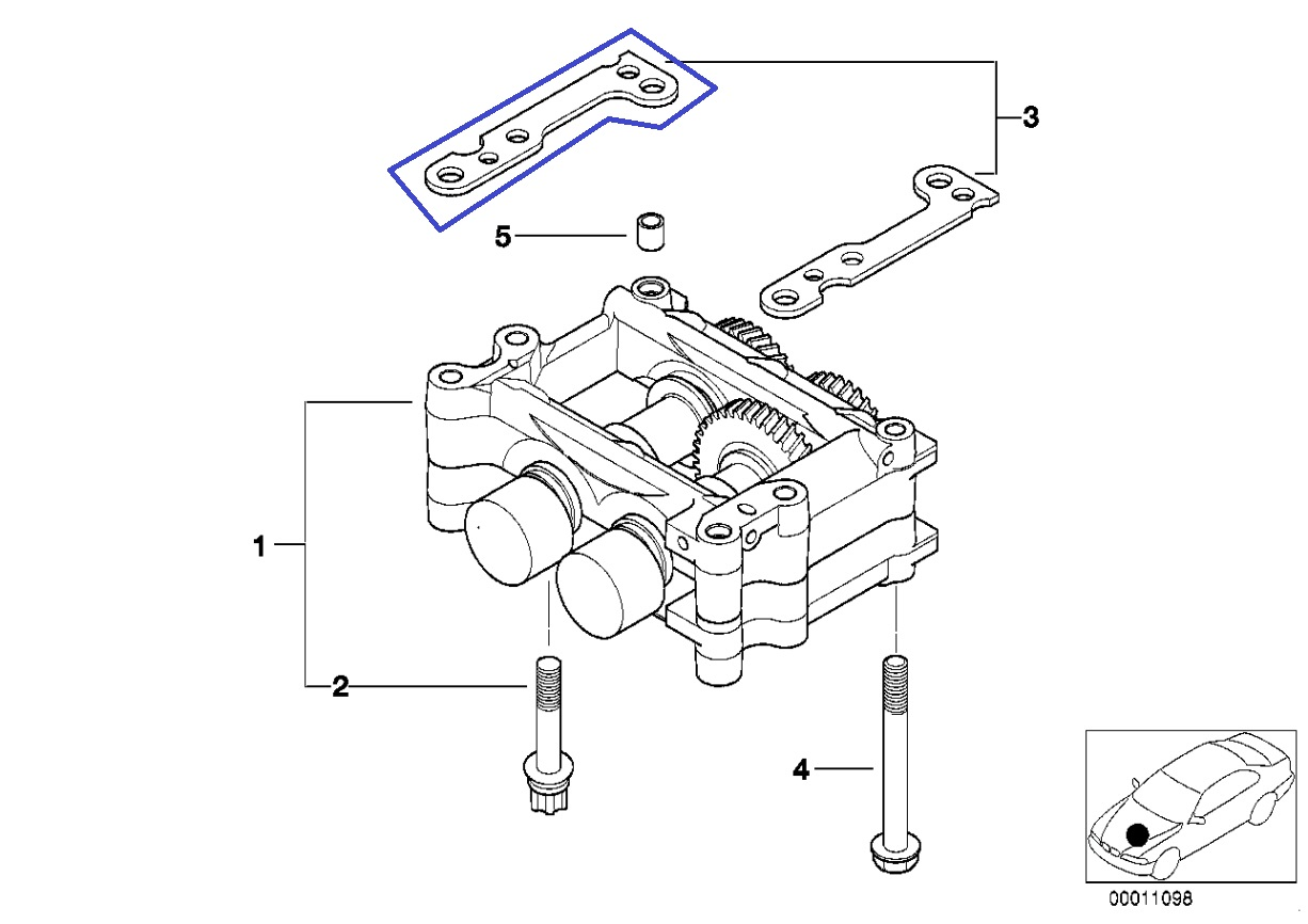 Bmw M43 Engine Balance Shaft Unit Shim Spacer