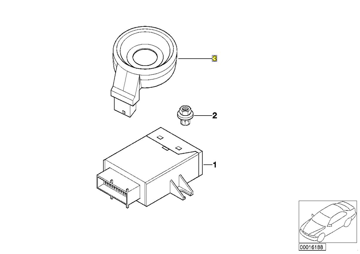 Bmw Ews Ignition Barrel Key Code Aerial Antenna