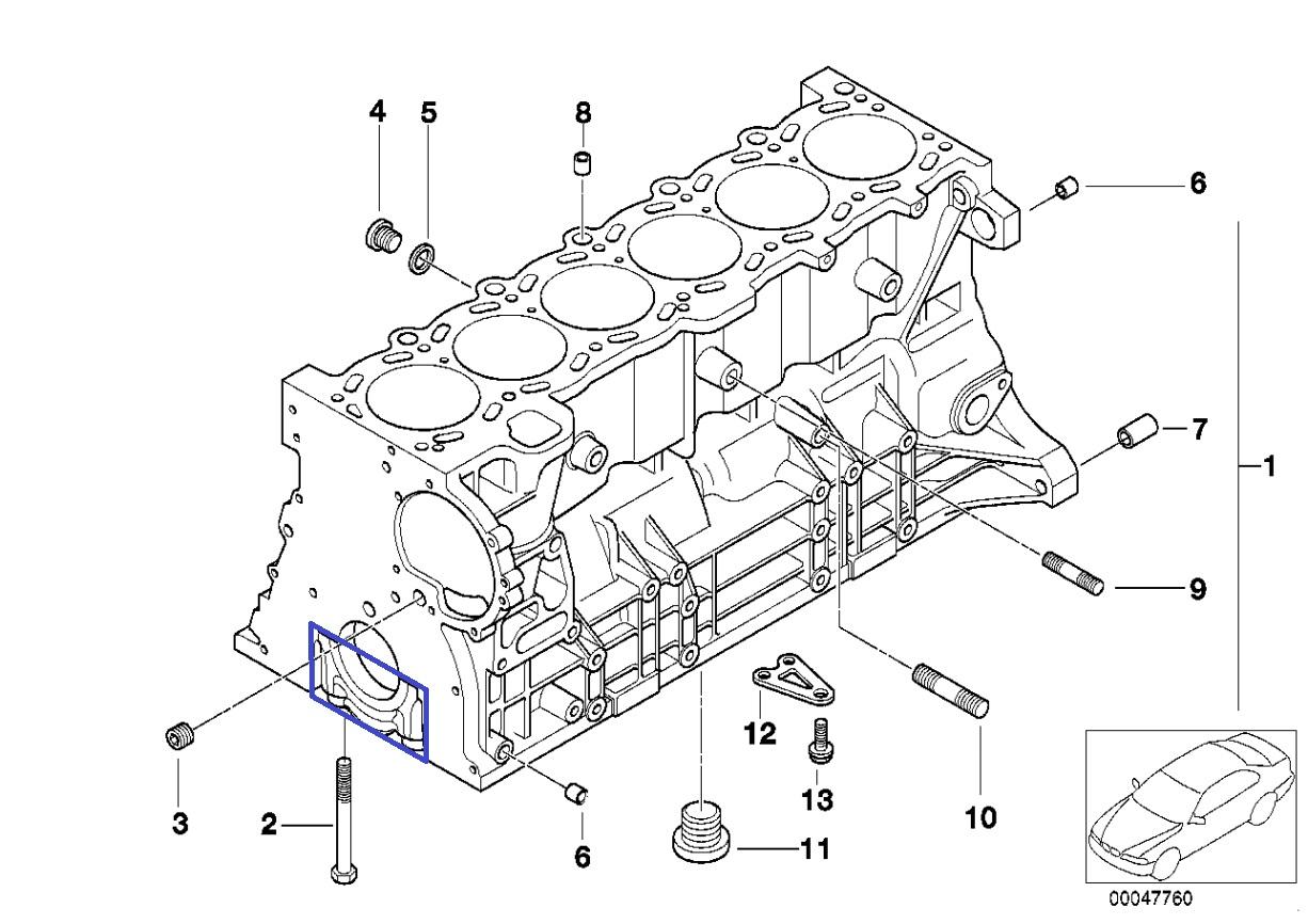 Marinesel Engine Main Bearing