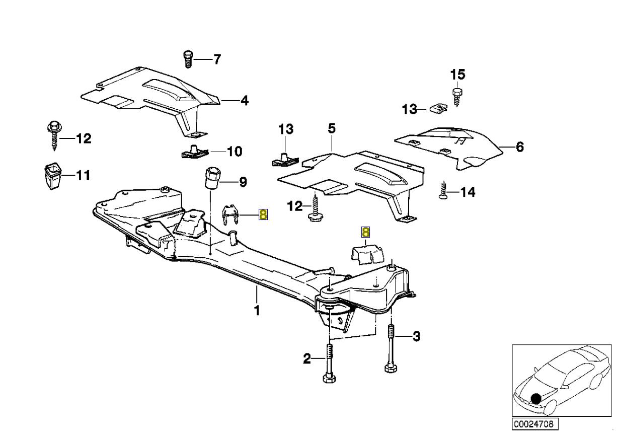 Bmw E34 Steering Lock Pitman Arm Limit End Stop