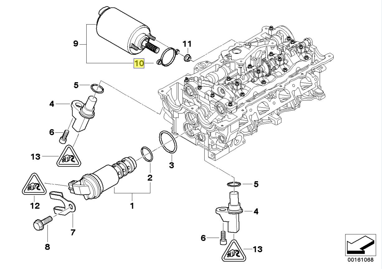 Bmw N46 Engine Valvetronic Actuator Seal Gasket