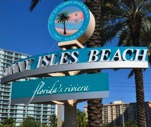 City of Sunny Isles Beach Sign