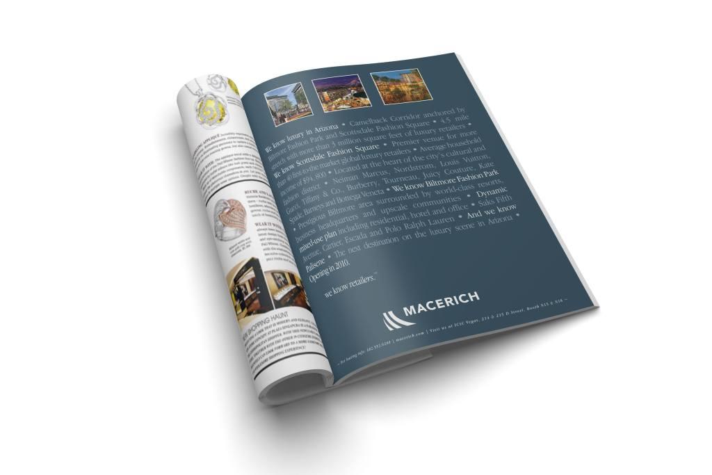 Macerich Magazine ad