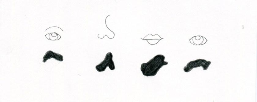 Le macchie possono essere i nostri occhi o il nostro naso, ma libere sono solo macchie.
