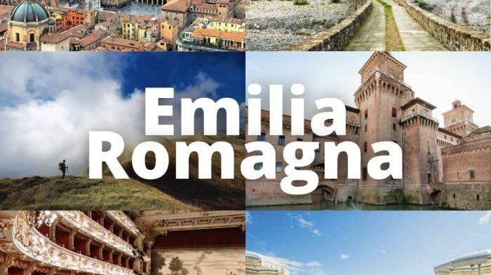 Immagini del territorio dell'Emilia Romagna