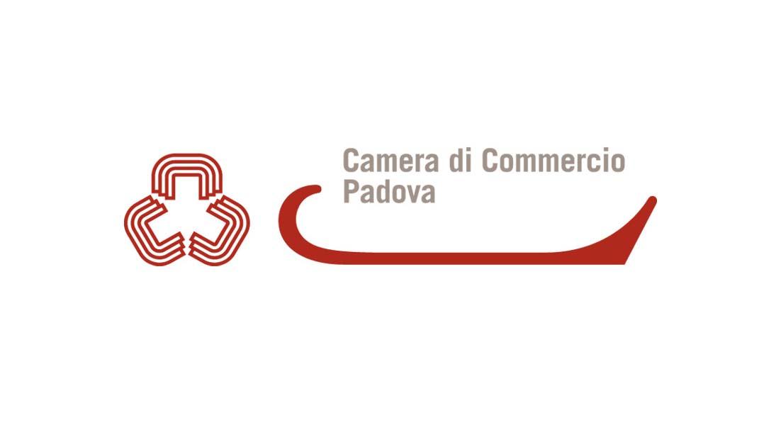 Logo della camera di commercio di Padova