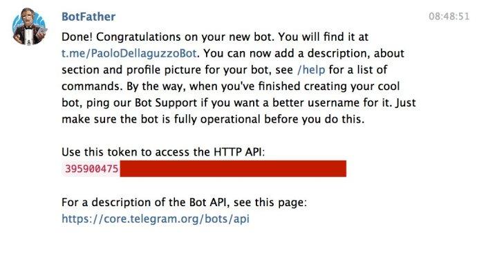 Telegram Bot API