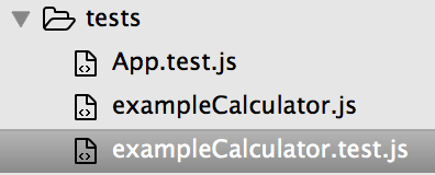 JavaScript tests