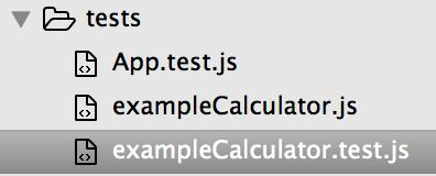 JavaScript tests