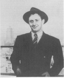 Lo scrittore di origine abruzzese John Fante.