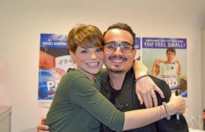 Alessandra Amoroso e Michael Tenisci