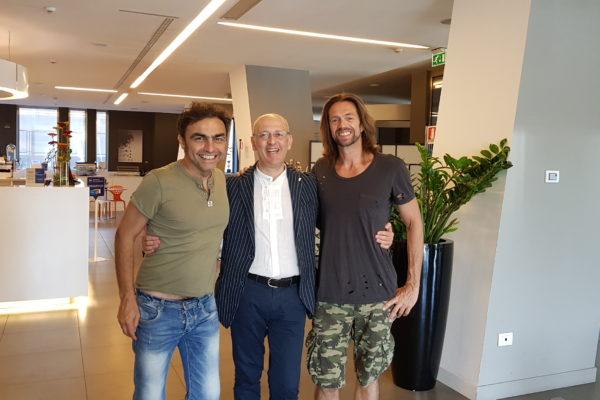 Marco Ligabue e Jonathan Gasparini 2019