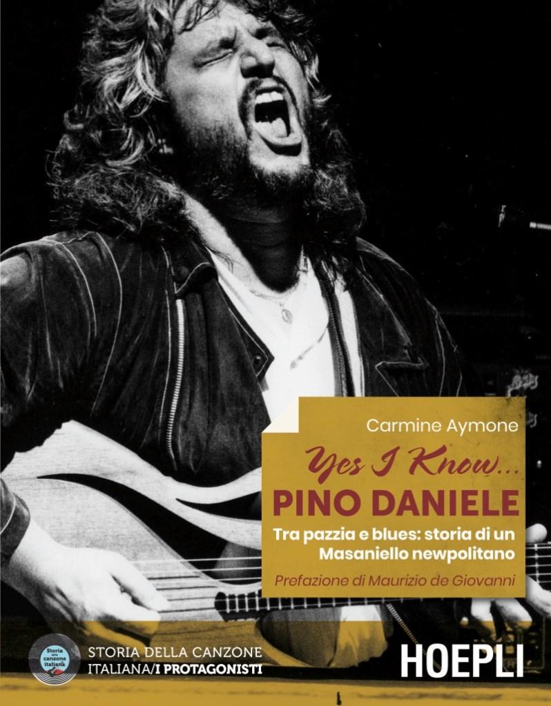 Pino Daniele in un libro di Aymone, la copertina