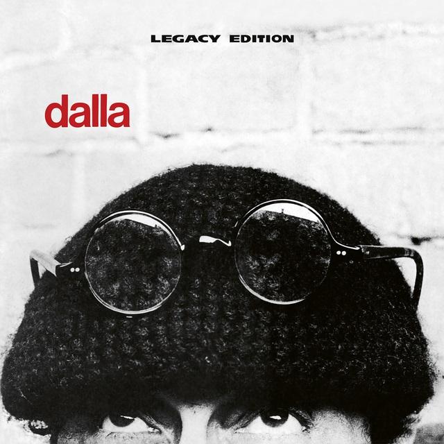 Dalla 40th anniversary, la copertina della riedizione del disco Dalla