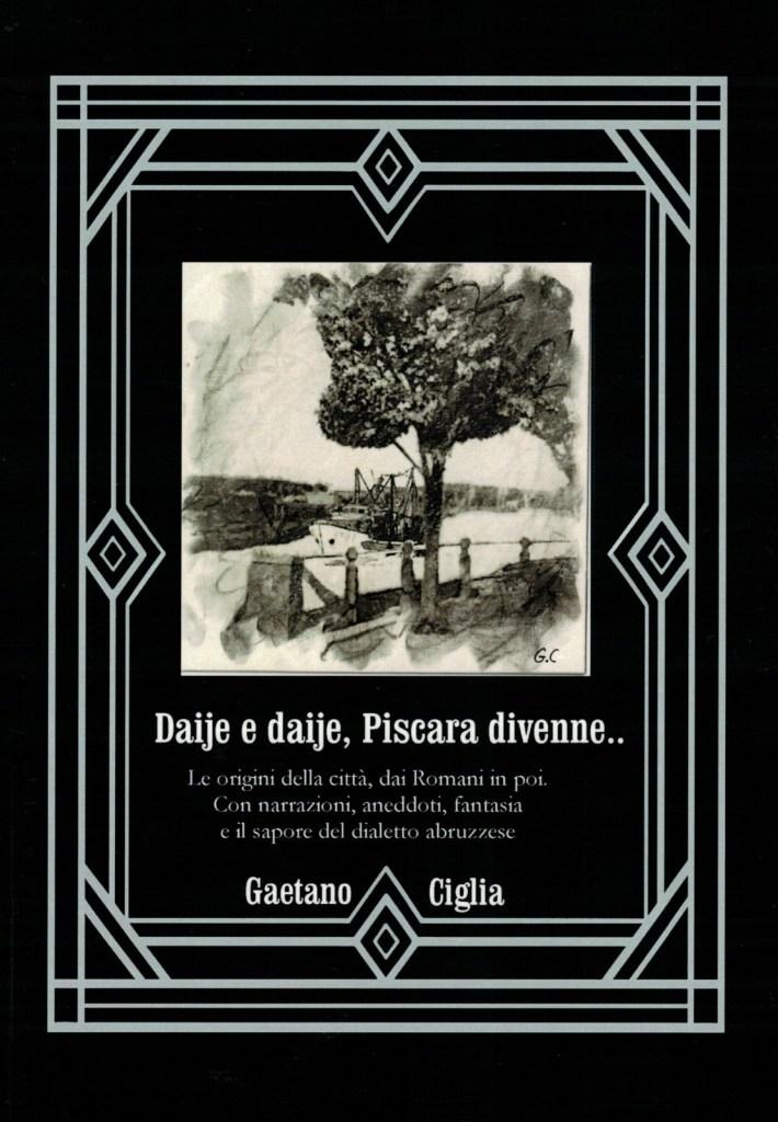Ciglia racconta la storia di Pescara. La copertina del libro