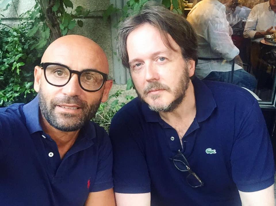 Le avventure di Aldo Amerigo Asnicar. Nella foto da sinistra Santo Pirrotta e Aldo Dalla Vecchia
