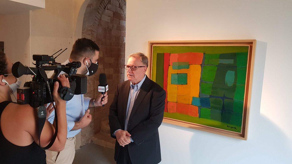 Castelbasso 2021 Borgo della cultura. Il presidente della Fondazione, Osvaldo Menegaz