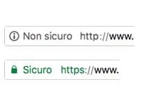 Attenzione ai siti non sicuri - paologaveglio.it