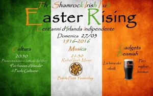 EASTER RISING 2016 THE SHAMROCK IRISH PUB